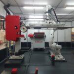 reciente entrega robot